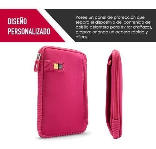 4959a290051 Funda Tablet 7 A 8´´ Case Logic Tneo-108mo Rosado Proglobal - $ 11.990 en  Mercado Libre