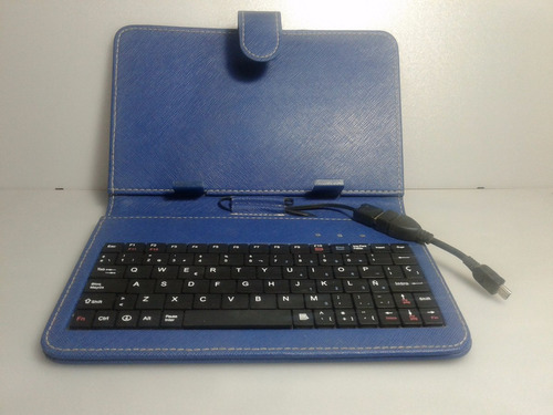 funda tablet 7  con cable y teclado usb -  tscde