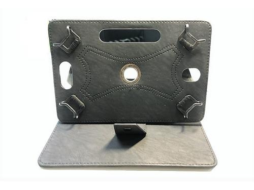 funda tablet  7 pulgadas universal protectora p/ eco cuero