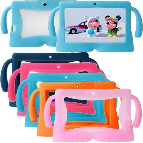 funda tablet silicona infantil universal 7 pulgadas kids