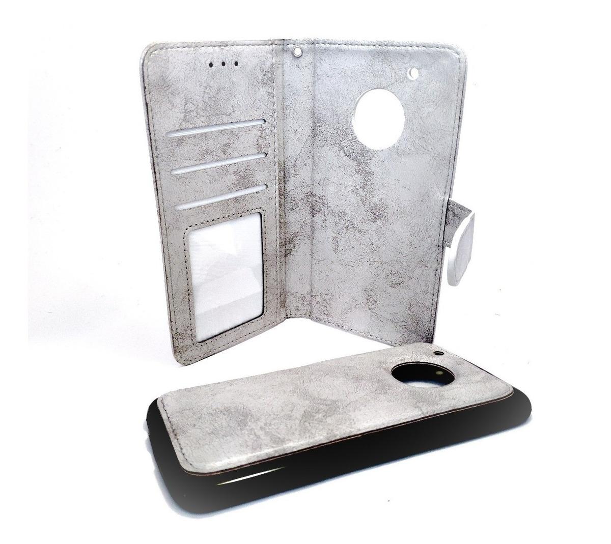 d4f85f2b0dc Funda Tapa Agenda Flip Cover Duo + Tpu Motorola Moto G5 Plus - $ 350 ...