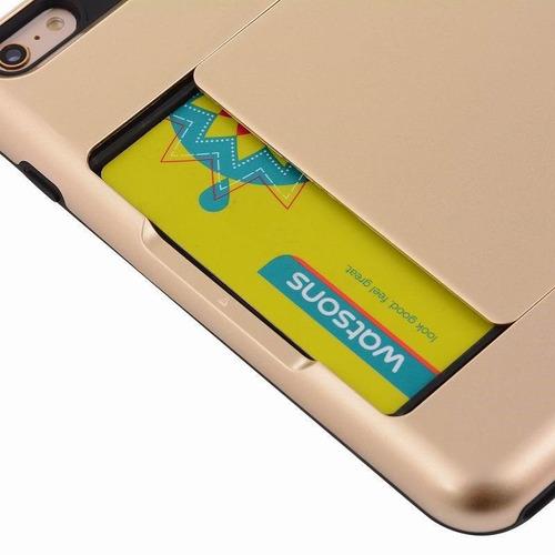 funda - tarjetero secreto iphone 6/6s - envio gratis x zonas