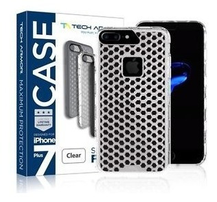 funda tech armor iphone 8 7 shock flex clear protec. extrema