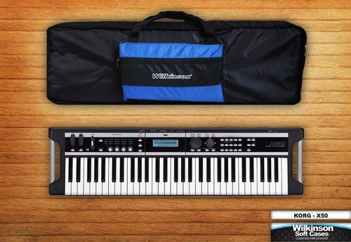 funda teclado casio ctk 1250 con mochila