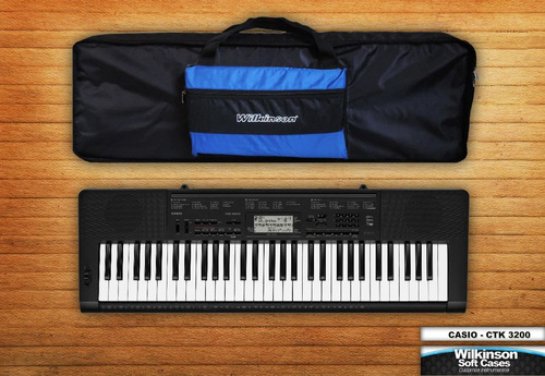 funda teclado casio ctk 2400 super acolchada