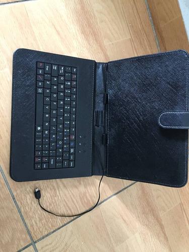 funda teclado para tablet 9