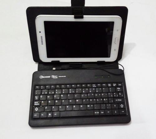 funda teclado tablet 7 pulgadas microlab