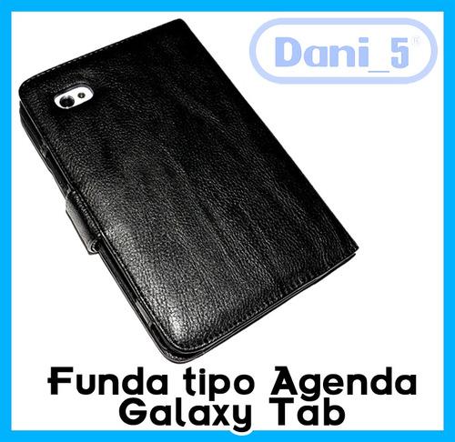 funda tipo agenda samsung galaxy tab 1 y 2 envio barato