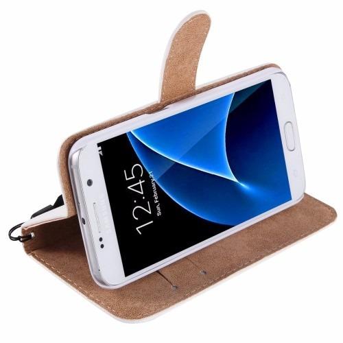 70b9ce42b Funda Tipo Cartera Pedrería Samsung Galaxy S7 Flores - $ 295.00 en ...