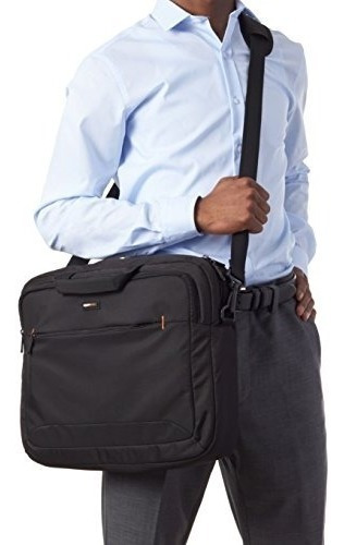 funda tipo maletin para portatil 17.3¨color negro