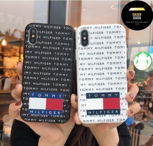 new concept 07501 fe0c3 Funda Tommy Hilfiger iPhone Xr,x,xs 7 Plus Y 8 Plus