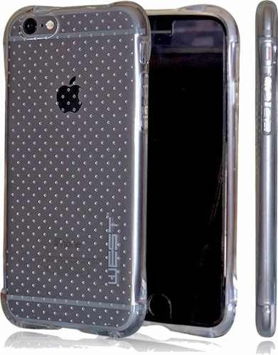 funda tpu air - silicona lg q6