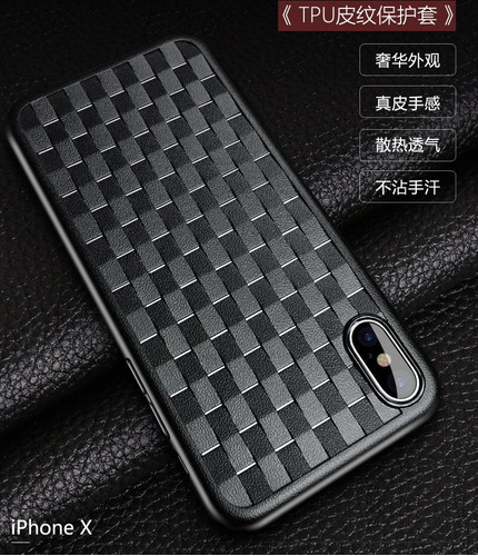 funda tpu antigolpe edivia negro iphone x