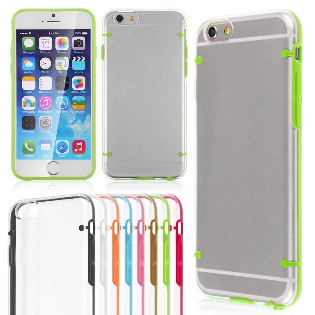 059653f4569 Funda Tpu Bumper Transparente iPhone 6 6s 6 Plus 6s Plus - $ 99,99 ...