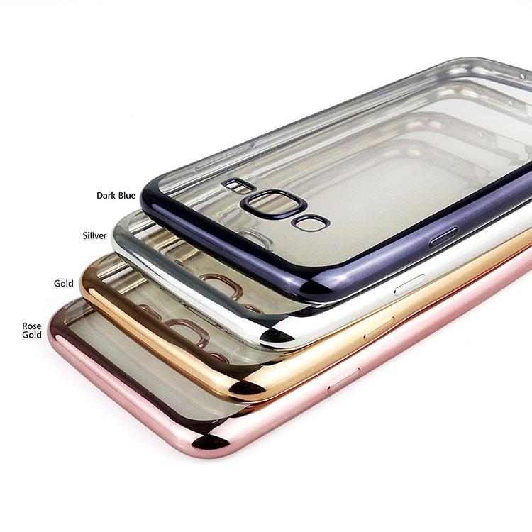 42530b437ab Funda Tpu Fina Borde Metalizado Moto G G3 G4 G4 Plus Play - $ 299,99 ...