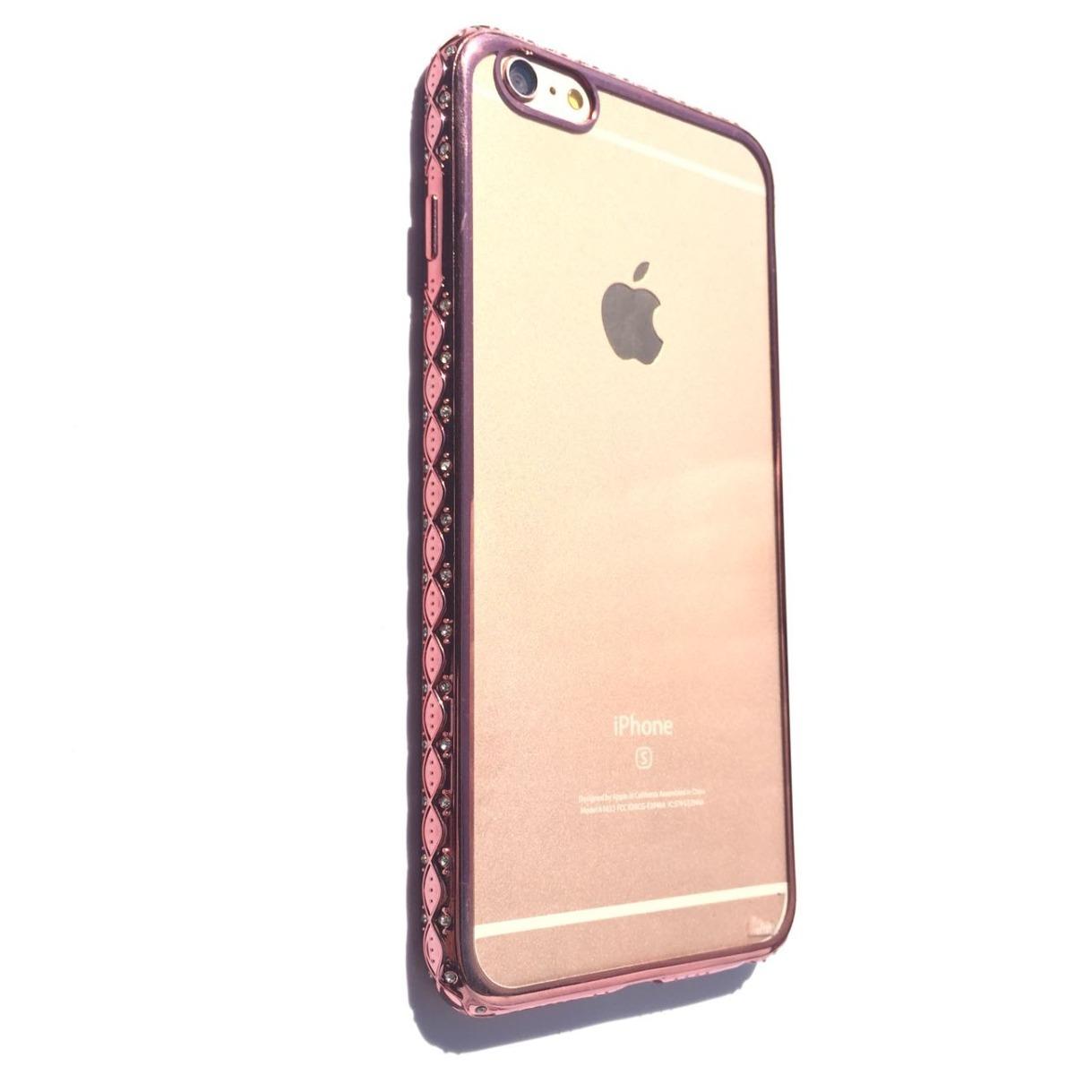 f104b5ec10a funda tpu hibrido con swarovski ros iphone 6 plus / 6s plus. Cargando zoom.
