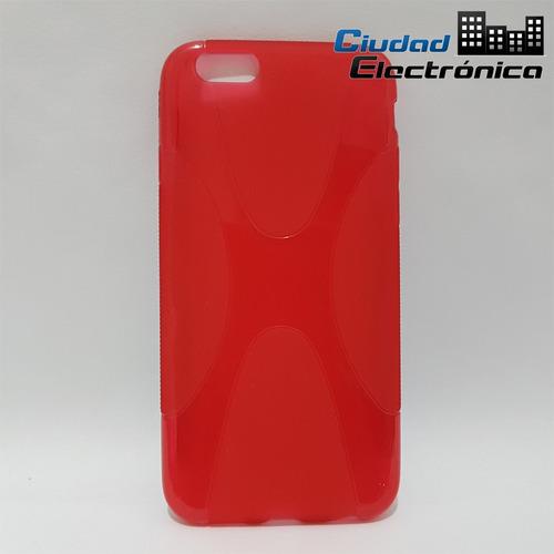 funda tpu iphone 6 rojo