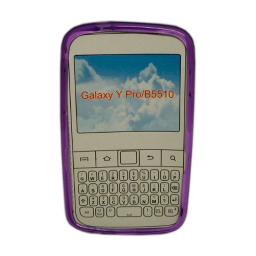 funda tpu lila galaxy y pro / b5510
