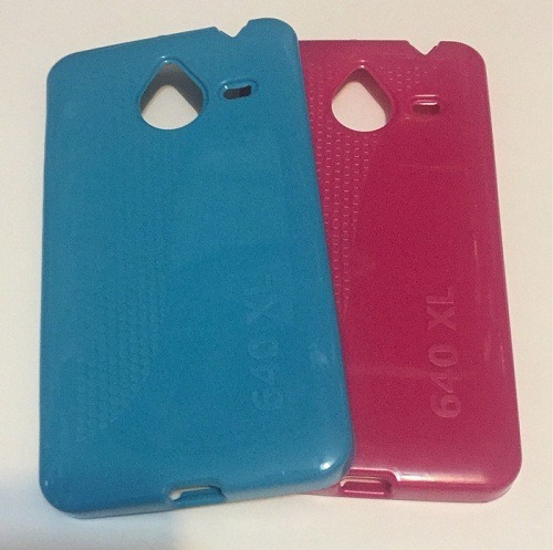funda tpu nokia microsoft lumia 640 xl + film templado glass