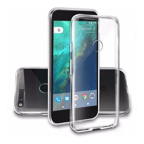 funda tpu silicona celular google pixel xl - factura a / b