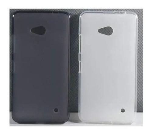 funda tpu silicona para nokia microsoft lumia 640 flexible