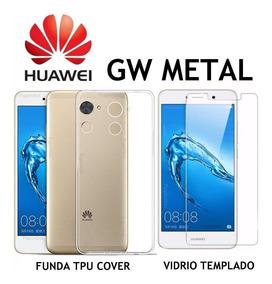 0910dcf0034 Funda De Silicona Transparente Para Huawei Gw Metal - Accesorios para  Celulares en Mercado Libre Argentina