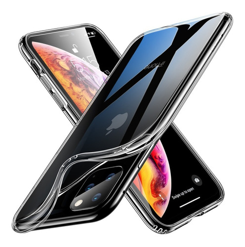 funda tpu ultra slim transparente p/ iphone 11 pro max