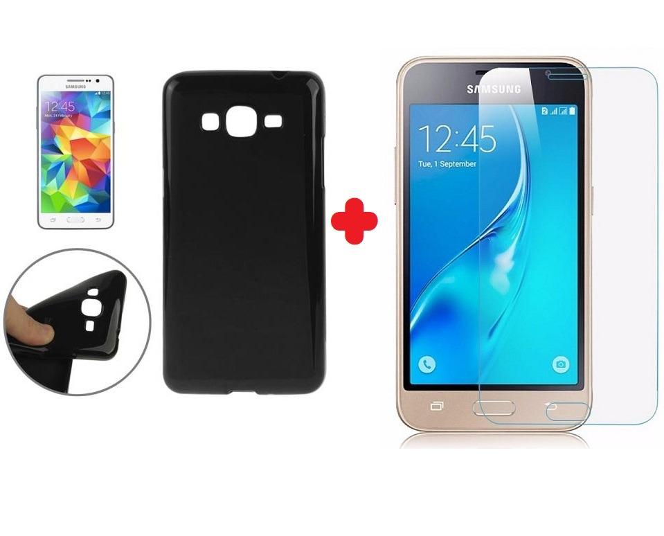 ac31d60cdf2 Funda Tpu + Vidrio Templado Samsung J1 Mini Prime - $ 149,99 en ...