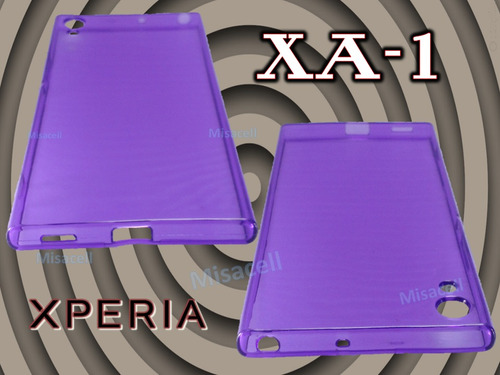 funda tpu  xperia xa1 + cristal + envio gratis :)