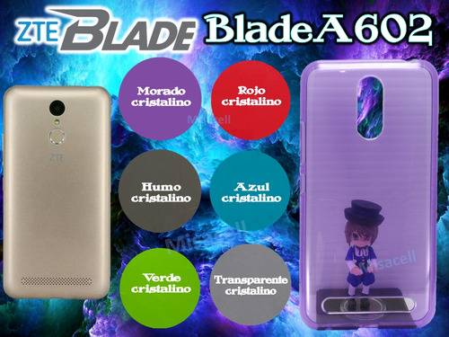 funda tpu zte blade a602 + envió gratis :)