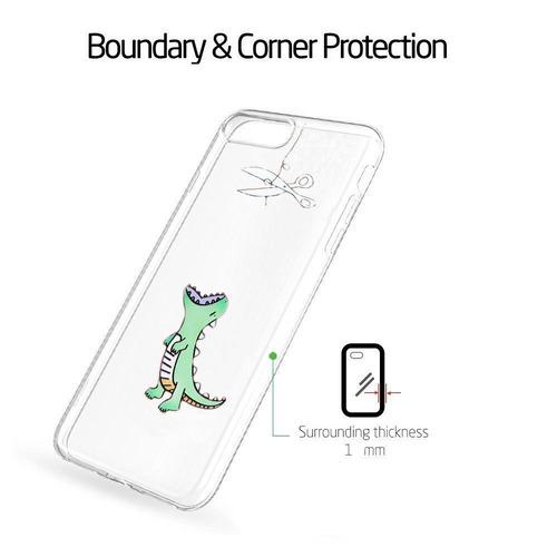 funda transparente para iphone 6s, funda unov iphone 6 trans