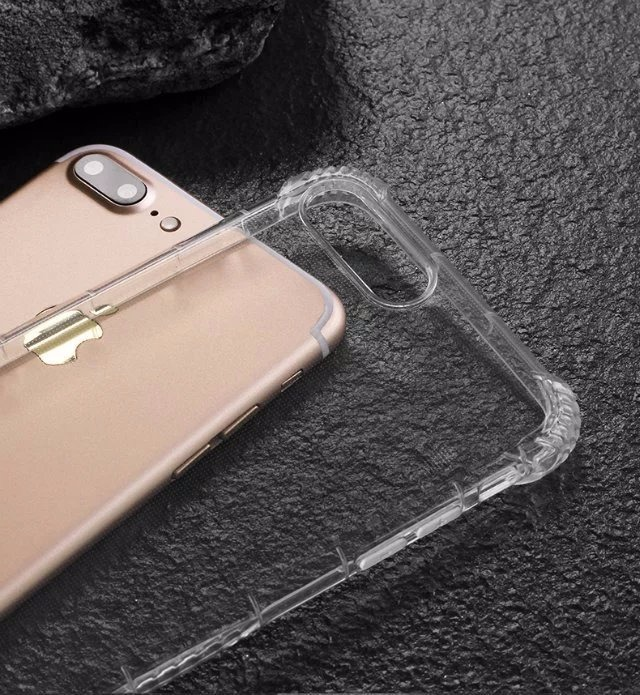 Funda Transparente Y Vidrio Templado Iphone 6 6s 7 8