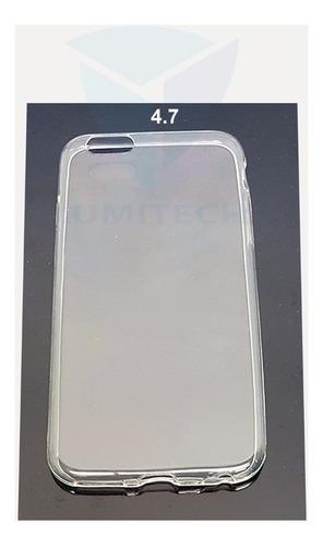 funda ultra thin transparente para iphone 6g (5.5) y (4.7)