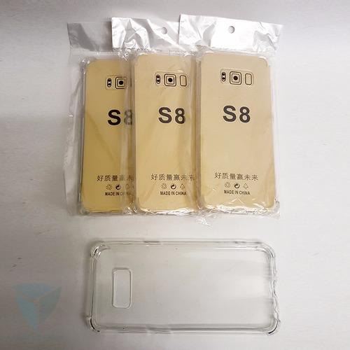 funda ultra thin transparente para samsung s8
