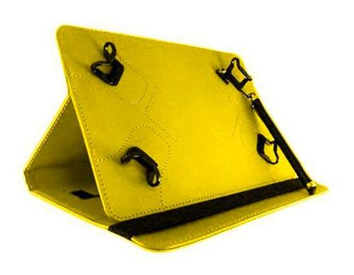 funda universal tablet 7 - 8 + lapiz stylus emoji