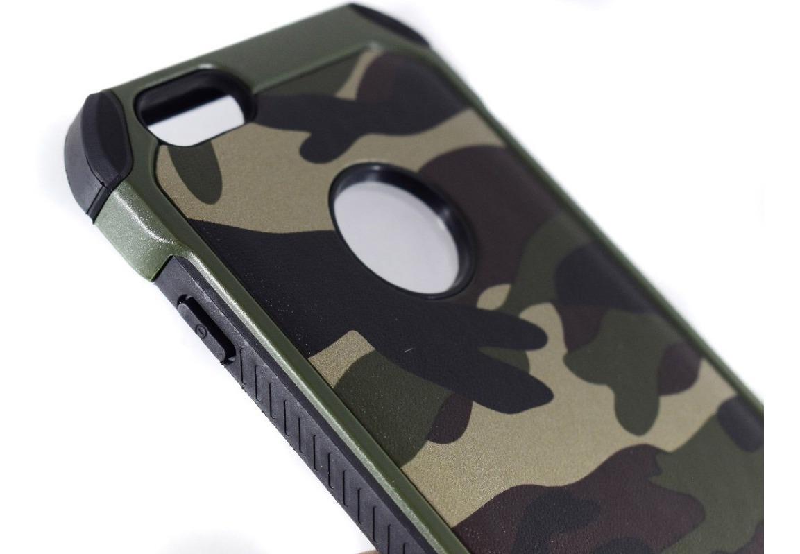 dbf1bd91352 funda uso rudo antigolpes camuflaje iphone 5 6s 7 7+ 8 8+ x. Cargando zoom.