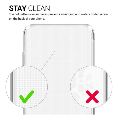 funda uso rudo transparente air cushion i iphone 7 | 8