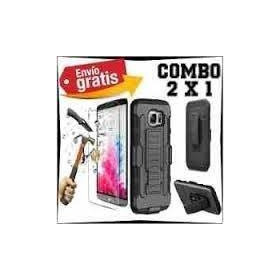Funda Uso Rudo Y Mica Glass H9 Motorola G4 Plus, G5, G5 Plus