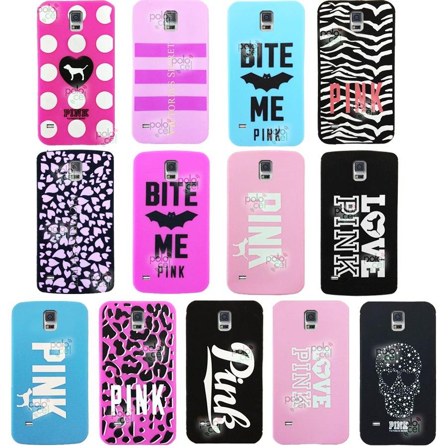 selección asombrosa mejor precio para barato mejor valorado Funda Victoria Secret Pink Samsung S5 G900 Diseños