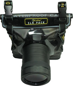 Impermeable Funda Lluvia Poncho Abrigo Carcasa para DSLR Sony Nikon en cámara