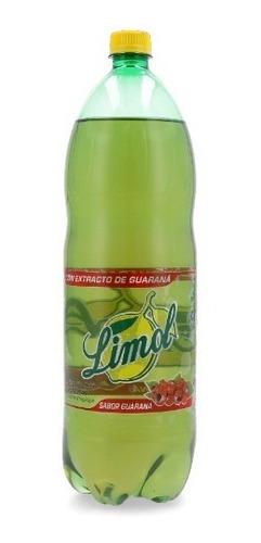 funda x 6 refresco limol 2lt sabor guaraná