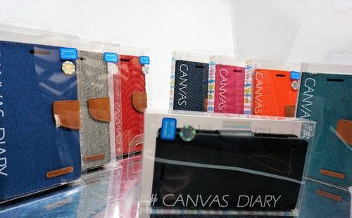funda xperia z5 mercury goospery canvas diary