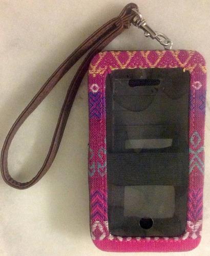 funda y billetera para iphone 5