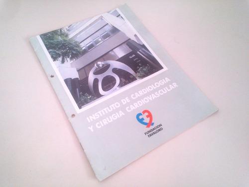 fundacion rene favaloro cardiologia - antigua revista 1992
