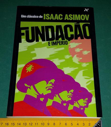 fundação e império - isaac asimov - em português - novo