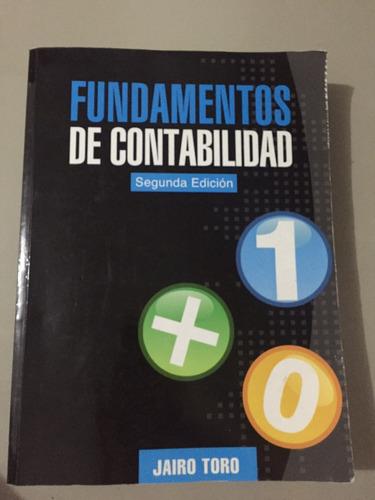 fundamentos de contabilidad - segunda edición