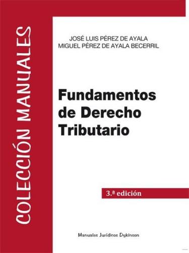 fundamentos de derecho tributario(libro )