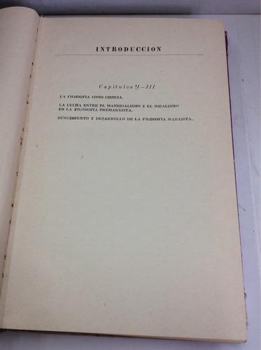 fundamentos de filosofía, v. afanasiev