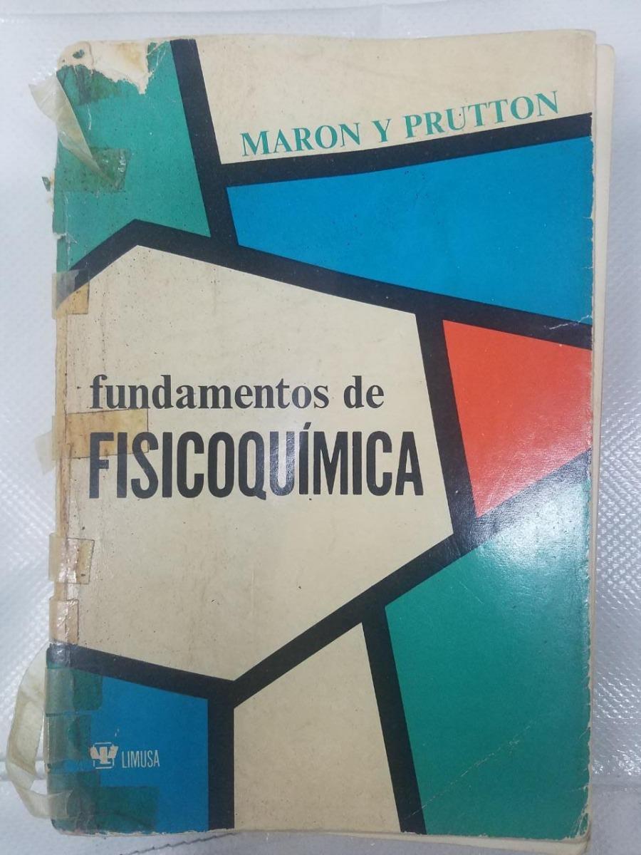 fisicoquimica maron y prutton