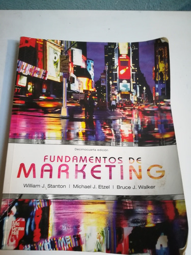 fundamentos de marketing stanton mcgraw hill libro